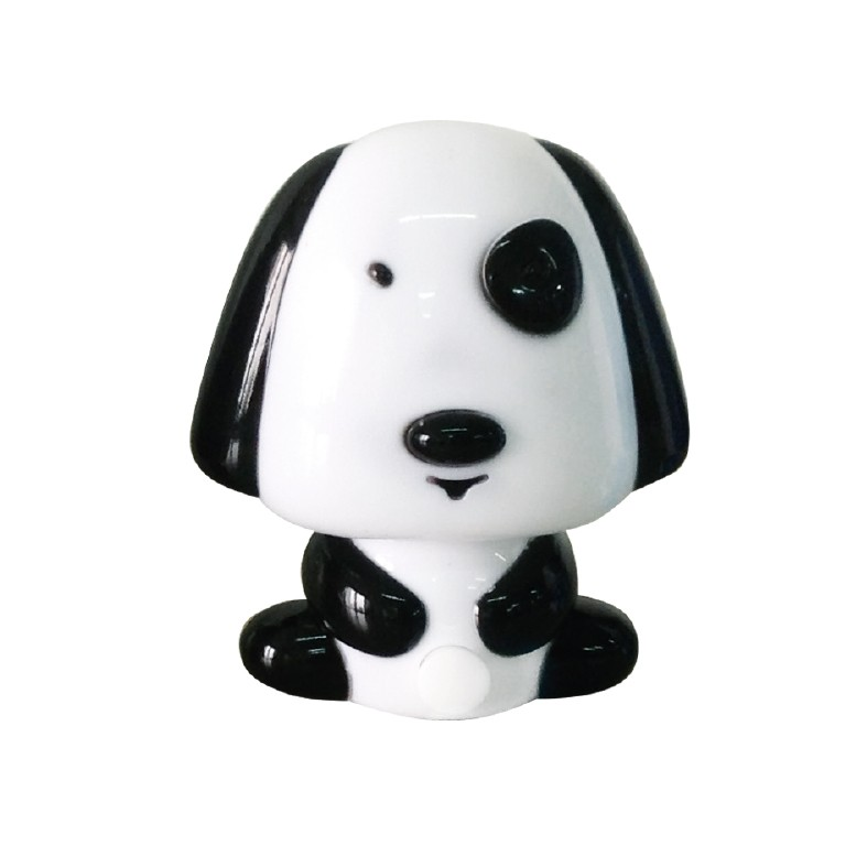 Led Night Light Black Dog With Switch Pendant Lights For Children S Sto Electronio