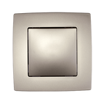 Switch 1 Button Cross Switch City Champagne Metallic
