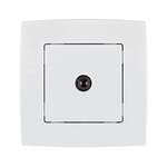 Tv Socket City White