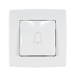 Door Bell Switch City White