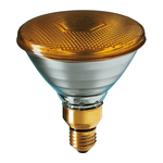 Lamp PAR38 80W 230V Yellow