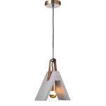 Lighting Pendant 1 Bulb Cement DCR171191P