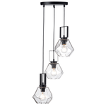 Lighting Pendant 3 Bulb Glass V371483PC