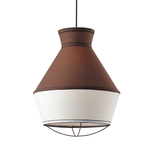 Lighting Pendant 1 Bulb Fabric V371961PB