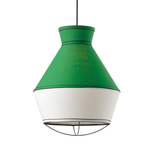 Lighting Pendant 1 Bulb Fabric V371961PE