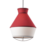 Lighting Pendant 1 Bulb Fabric V371961PR