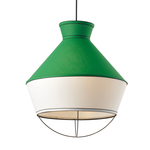 Lighting Pendant 3 Bulb Fabric V371963PE