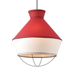 Lighting Pendant 3 Bulb Fabric V371963PR