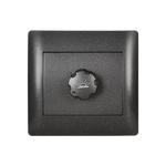 Dimmer Switch Rhyme Graphite Metallic