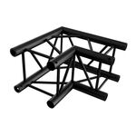 2-Way 90° for Truss Square 30x30 Black