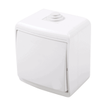 Outdoor Switch 1 Button 2 Way IP44 White