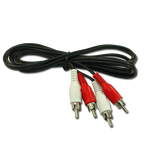 Audio Cable 2 RCA Males - 2 RCA Males 1.5m