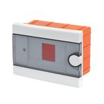 Plastic Distribution Box 1 Row 6 Module Recessed