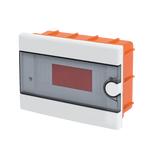 Plastic Distribution Box 1 Row 9 Module Recessed