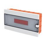 Plastic Distribution Box 1 Row 12 Module Recessed