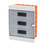 Plastic Distribution Box 3 Row 36 Module Recessed