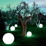Rechargeable Decorative Ball Led D30cm IP54 RGB + Remote Control