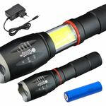 Led Well Flashlight Rechargeable 10W Cree 800 lumen