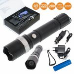 Led Flashlight Rechargeable 3W Cree 220 lumen Well