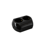 Double German Screw Type Socket Black
