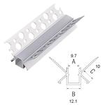Aluminum Profile for Internal Corner 2m BC