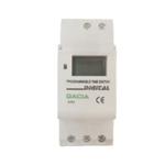 Χρονοδιακόπτης Ράγας Ψηφιακός Ημερήσιος/Εβδομαδιαίος 230VAC SR5 GAC