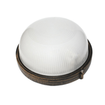 Lighting Oval Rust E27 HI5012R