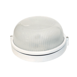 Lighting Oval White E27 HI5012W