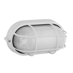 Lighting Oval White E27 HI5031W
