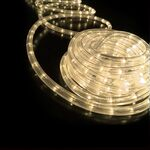 Rope Light 36 Lights/m 2 Wires Warm White