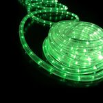 Rope Light 36 Lights/m 2 Wires Green