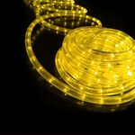 Rope Light 36 Lights/m 3 Wires Yellow