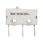 MICRO SWITCH SM05-H00CL BUTTON-SOLDER 250gf SILVER