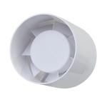 Tubular Indoor Bathroom Fan 12cm 20W White