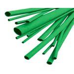 Thermal Heat Shrink Tubing 25.4/12.7mm Green 1m