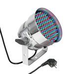 Cameo PAR56 LED RGB 151x5mm Nikel