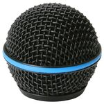 Replacement grille for Shure Microphone BETA58A Black (RK323G)