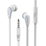 Ακουστικά-Handsfree Κινητών JM12 Ασημένια