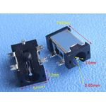 PCB Power Charger Plug DC Male 5pin 2.5mmX0.65mm