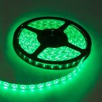 Waterproof Led strip 14,4W Green 24V