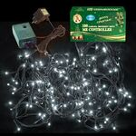 Christmas Led Lights White 100L Controller for Outdoor use