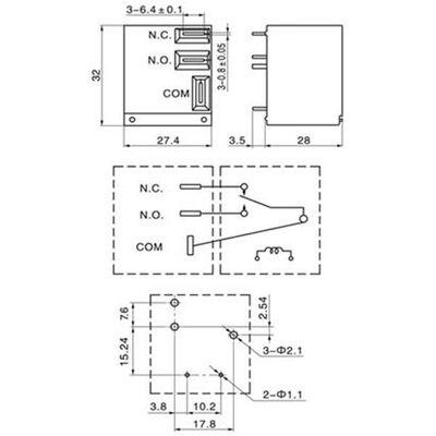 RELAY FOR CAR 12V DC 30A SLC - S - 112DM (1 N / O) SAN