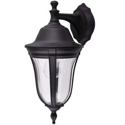 Wall Mounted Luminaire Lantern Aluminum Matt Black Outdoor 96202WD/BK