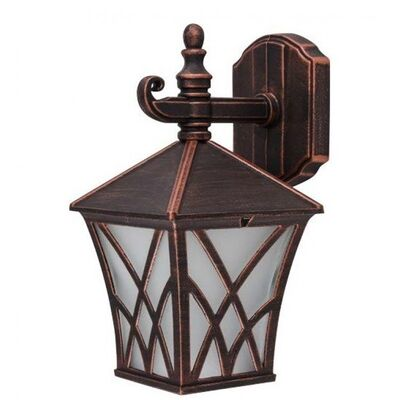 Wall Mounted Luminaire Lantern Aluminum Antique Copper Outdoor 96301WD/BRB
