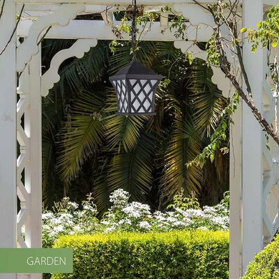 Hanging Luminaire Lantern Aluminum Matt Black Outdoor 12053-650-BK