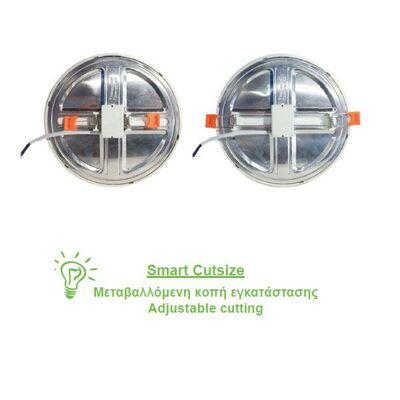 Round Recessed LED Slim Panel FLEXI 9W 120° 3000K