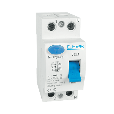 Residual Current Device JEL1 30mA 40A 2P