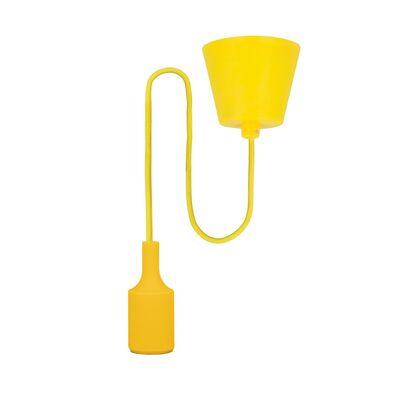 Κρεμαστό Ντουί E27 με Καλώδιο Κίτρινο