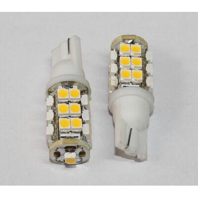 Led Bulb T10 25SMD 3528 Warm White