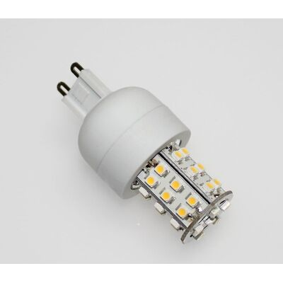 Λάμπα Led G9 3W Θερμό 3000K 36 LED SMD 3528 Dimmable